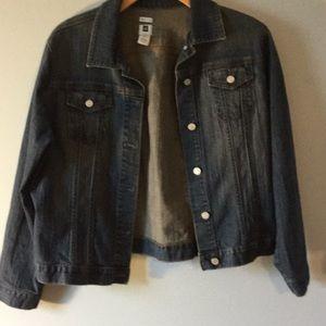 Ladies 2x denim jacket